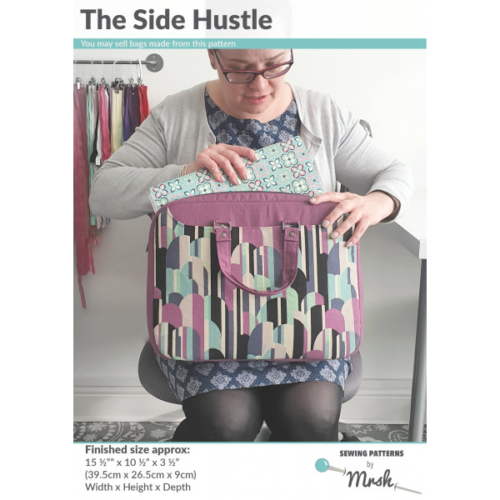 Mrs H Bag Pattern - THE SIDE HUSTLE BAG including full size templates