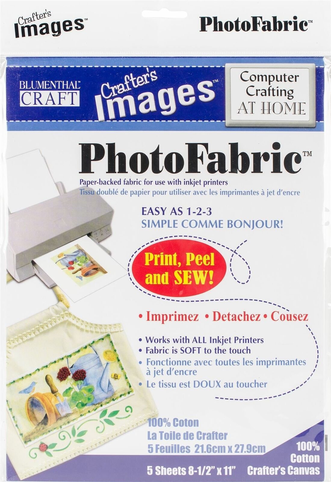 Crafter's Images Sew-In Photo fabric 8.5