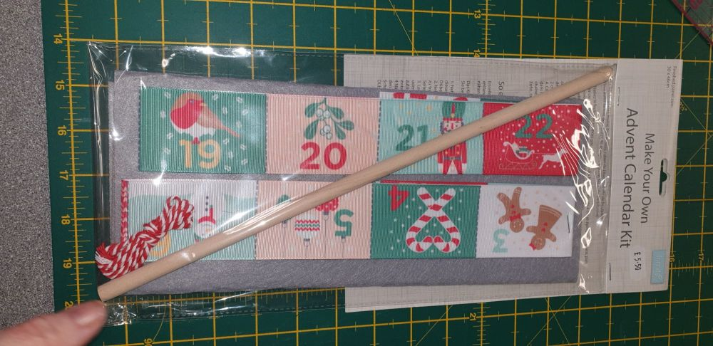 Make your own advent calendar kit