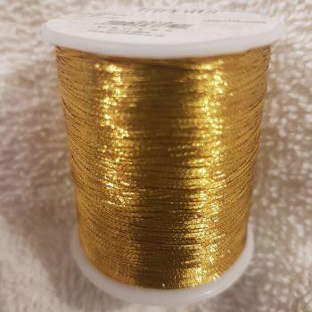 Trimits 180mtr  Embroidery thread metallic gold