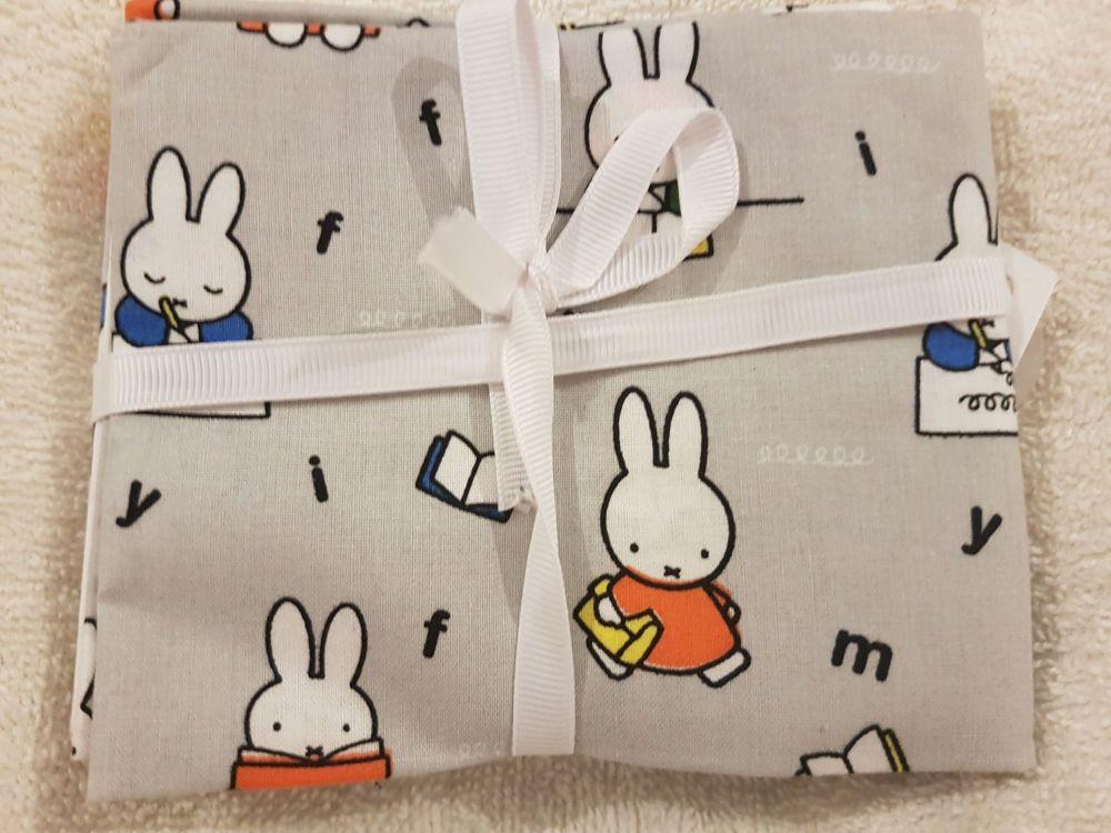 Craft cotton co fat quarter pack Miffy art school