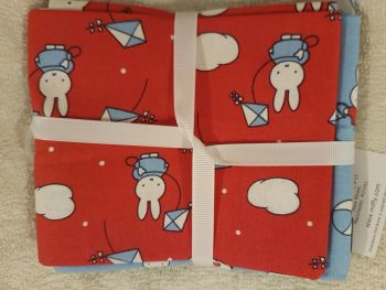 Craft cotton co fat quarter pack Miffy holiday