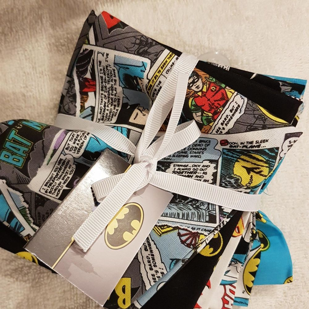 DC Batman STAX fat quarter pack