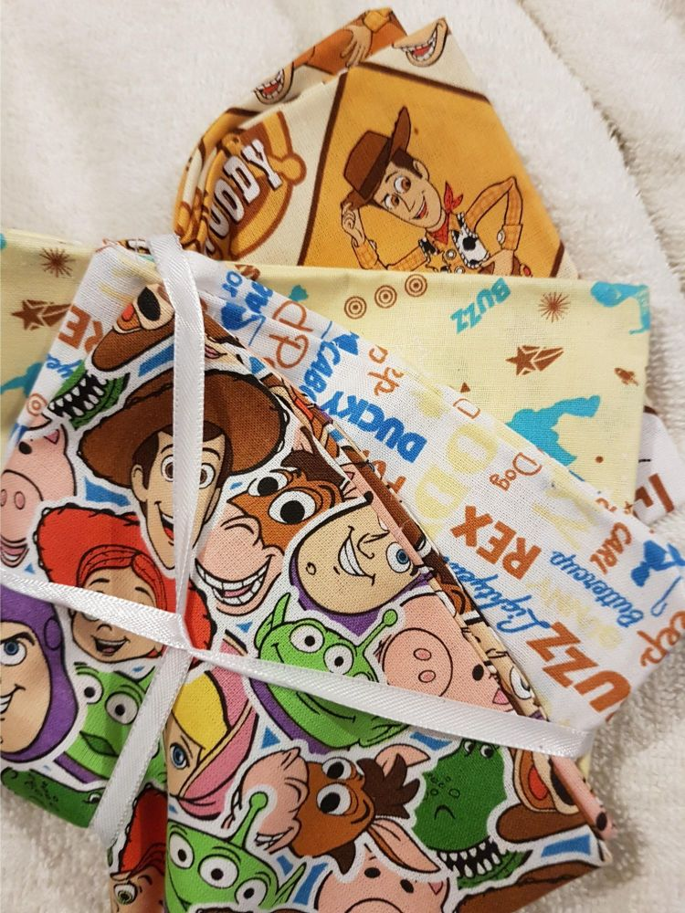 Stax Disney Toy storey fat quarter pack