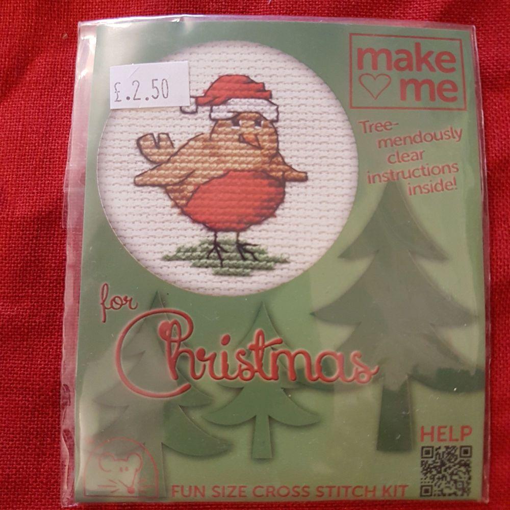 Mouseloft make-me cross stitch Robin