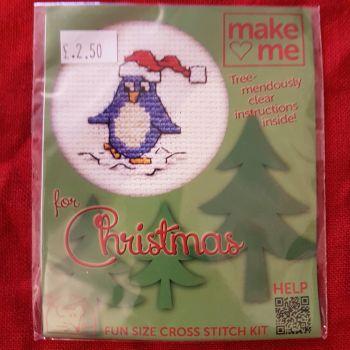 Mouseloft make-me cross stitch Penguin