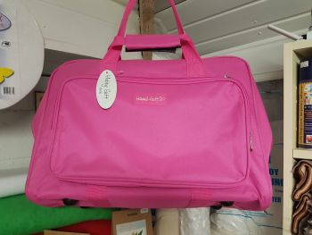 Sewing machine carry bag pink by hobby gift