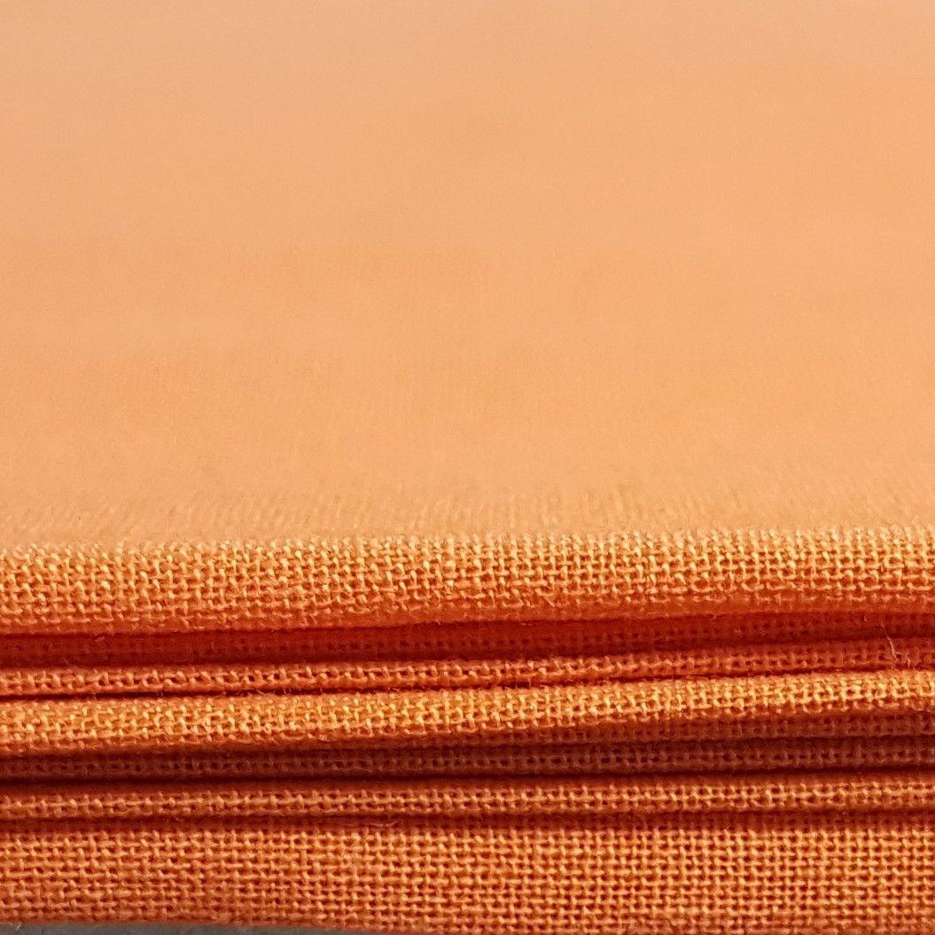 Craft cotton co 2230-26 homespun PD orange 100% Cotton Fabric