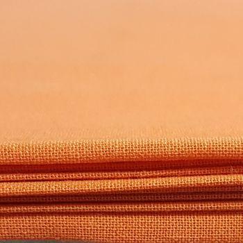 Craft cotton co 2230-26 homespun PD orange 100% Cotton Fabric PRICED PER 0.5 (HALF) METER