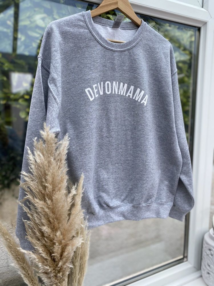 Devonmama  Oversized Sweatshirt