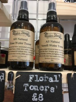Floral facial toner - Rose water