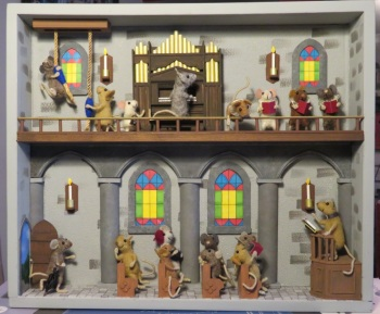 Mouse School Nativity Play