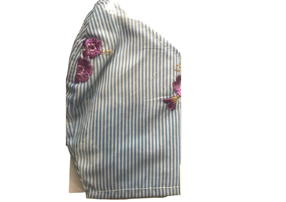 Washable reusable mask in cotton. Ladies/teen size.
