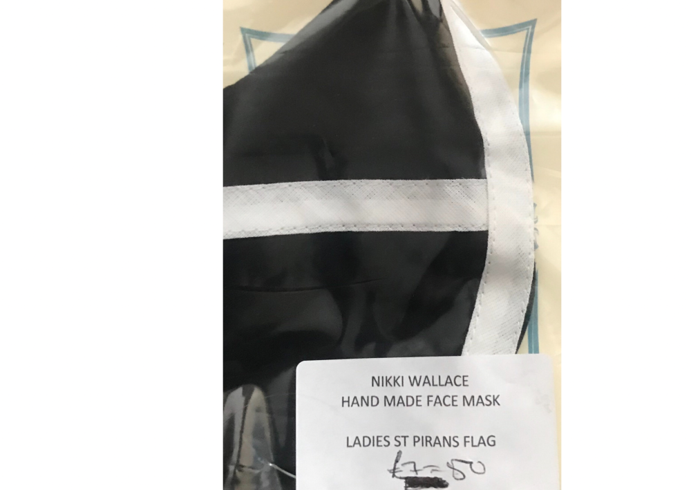 Ladies St Pirans Flag Mask