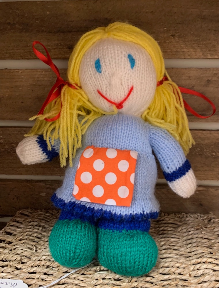 Hand knitted Dolly