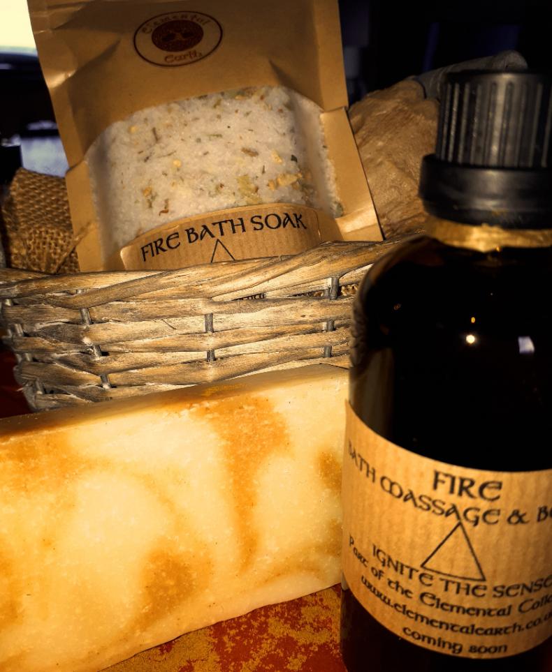 Fire Body Bath & Massage Oil
