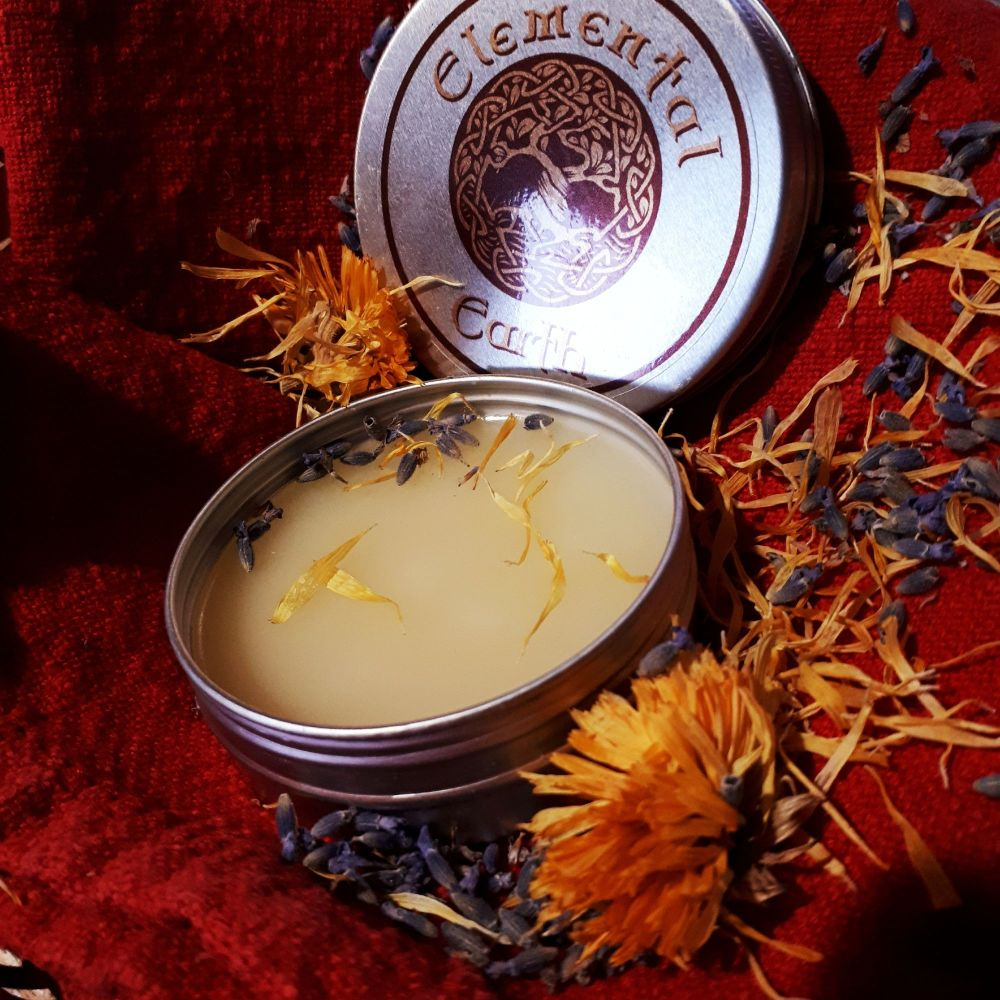 Calendula and Lavender Infused Organic Healing Balm