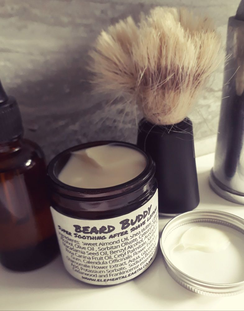 Soothing  Cedarwood & Frankincense Aftershave Lotion & Organic Soap