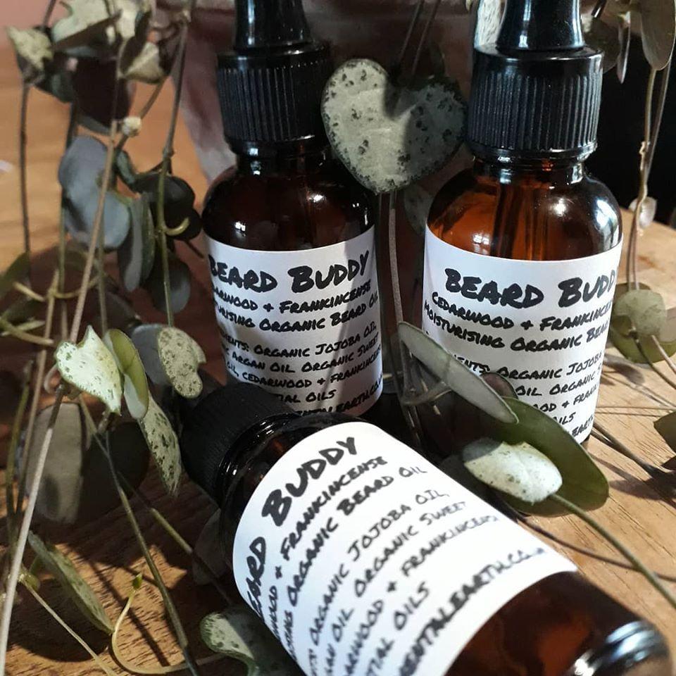 Coconut Milk Organic Beard Shampoo Bar & Moisturising Beard Oil
