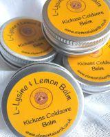 Kickass Coldsore Banishing L-Lysine & Lemon Balm Ointment