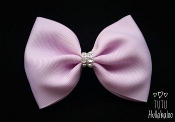 Plain Lilac Tux Bow