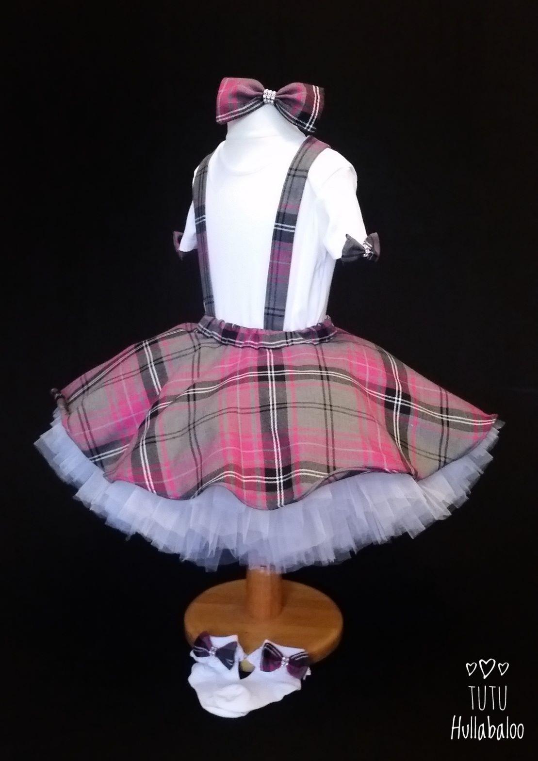 Tartan Pinafore Dress