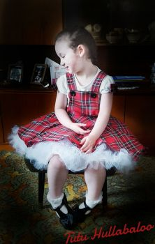Tartan Pinafore Dress - Royal Stewart Tartan