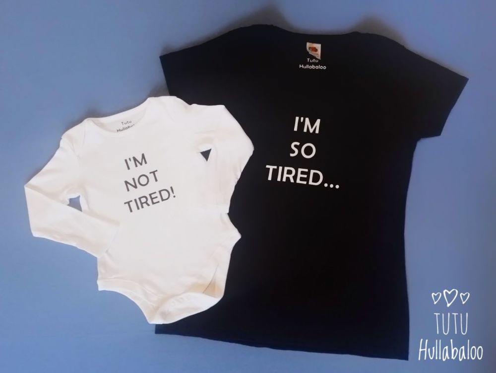 Mummy and Me Vest and Tshirt Set