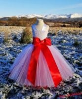 Big Bow Dress Full Length