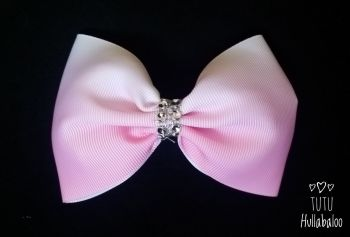Ombre Pink Tux Bow