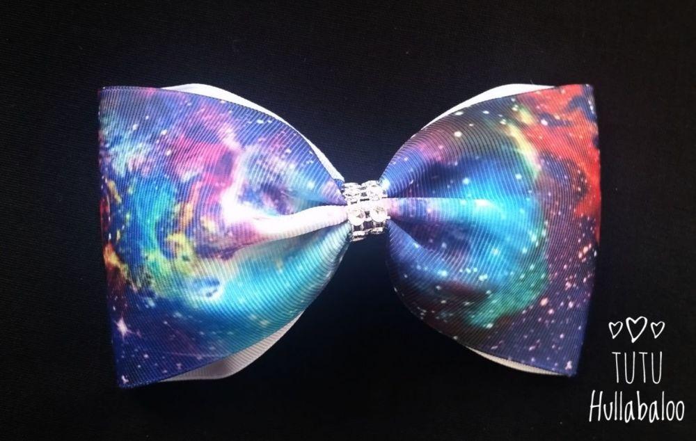 Galaxy Tux Bow