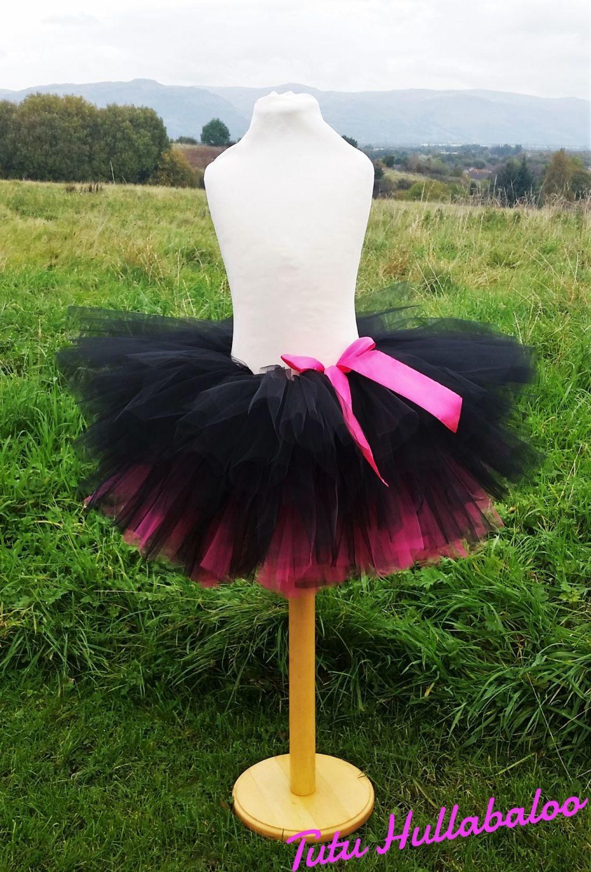 Kids' Pink/Black Tutu