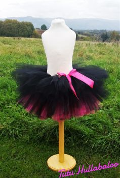 Pink/Black Tutu - Child