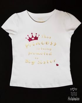 Big Sister Princess Tshirt