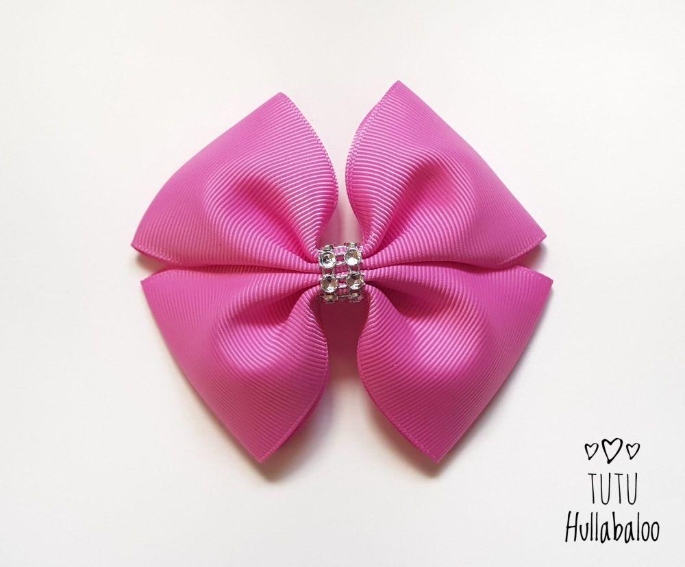 Plain Double Tux Bow