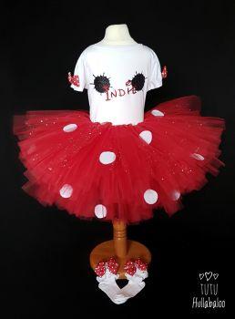 Spotty Tutu Red - Child
