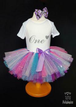 Pink/Purple/Blue Tutu - Child