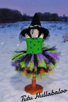 Witch Dress Green