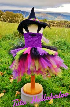 Witch Dress Purple