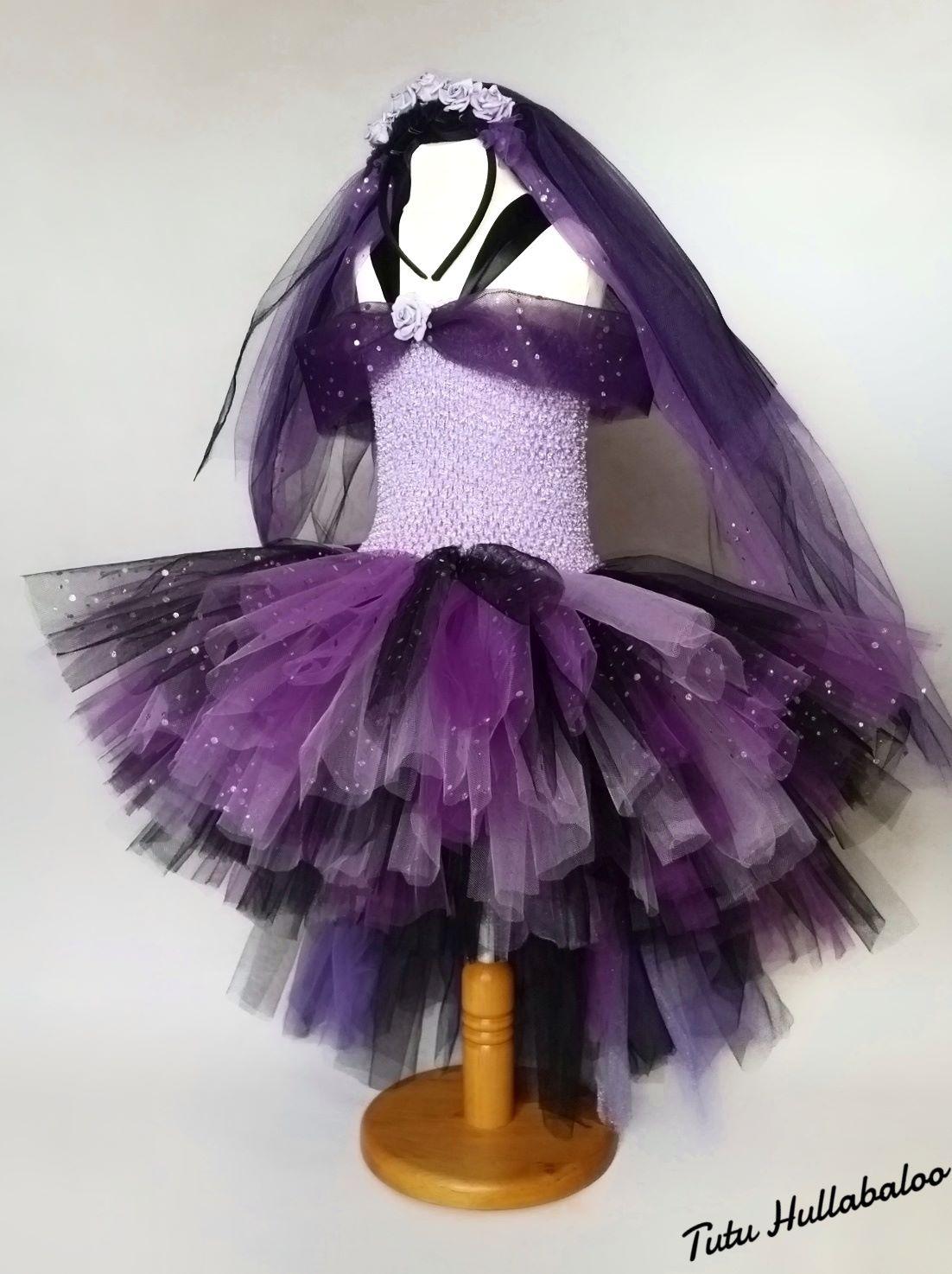 Witch Dress Purple