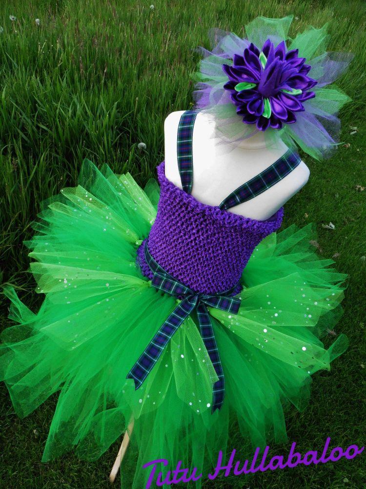 Scottish Thistle Dress