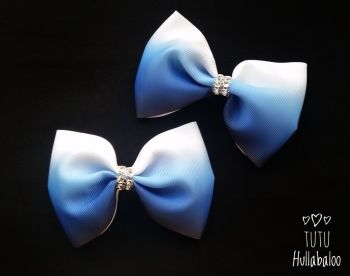Ombre Navy/Blue Tux Bow