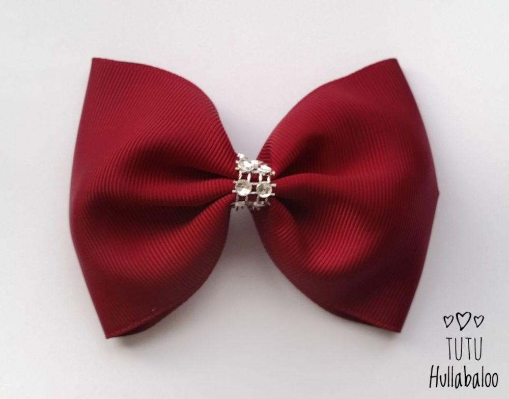 Plain Tux Bow