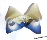 Ombre Mega Bow Yellow/Blue