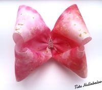 Pink/Gold Mega Bow