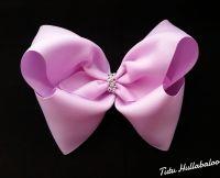 Plain Lilac Mega Bow