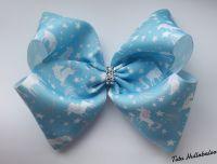 Unicorn Blue Mega Bow
