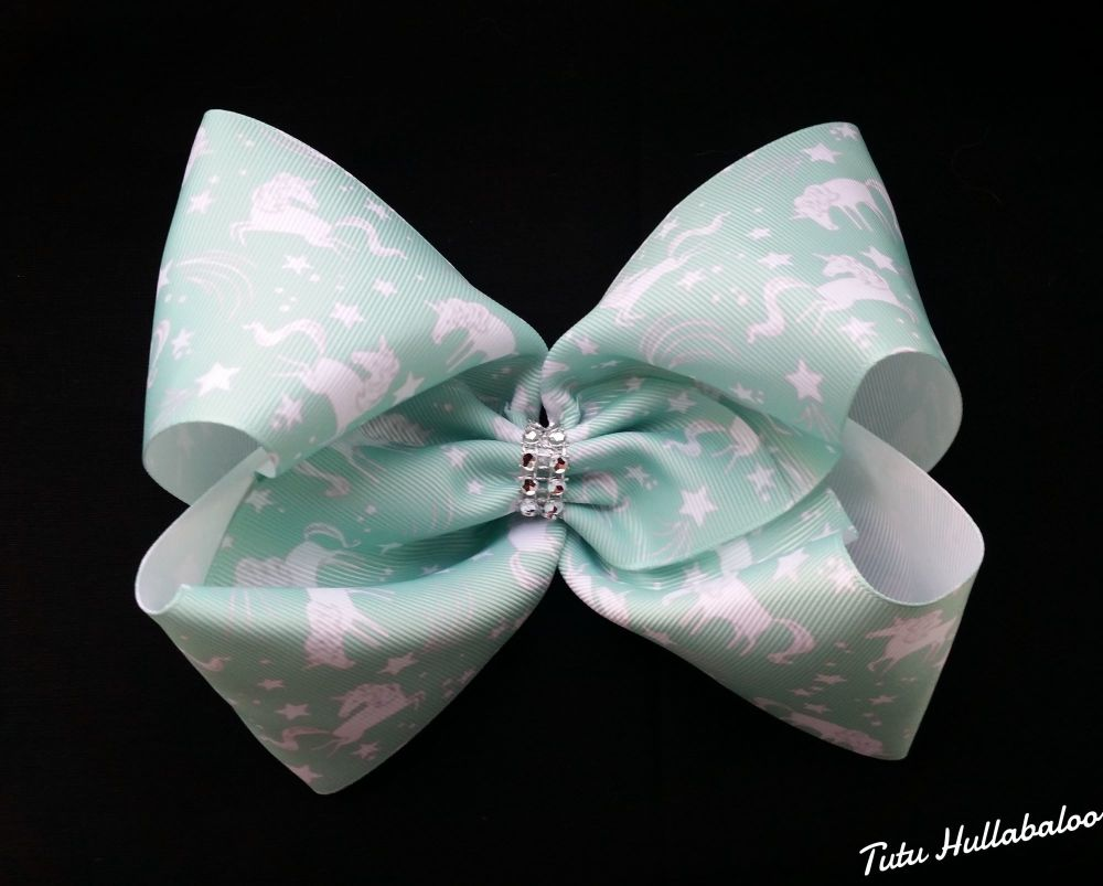Unicorn Mega Bow Green