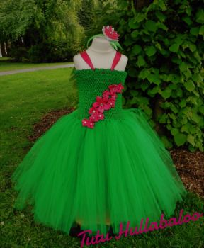 Ice Princess Dress Green