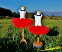 Plain Tutu Red - Child